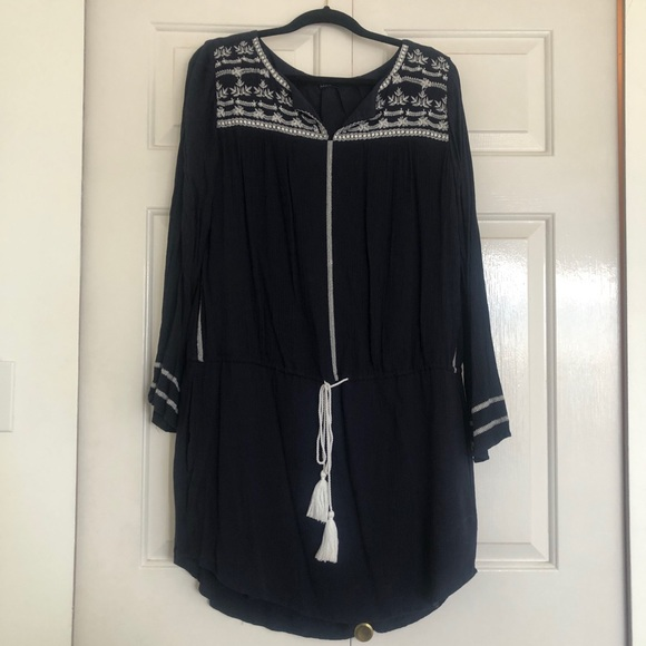Gap. Worn once. Navy tunic dress.